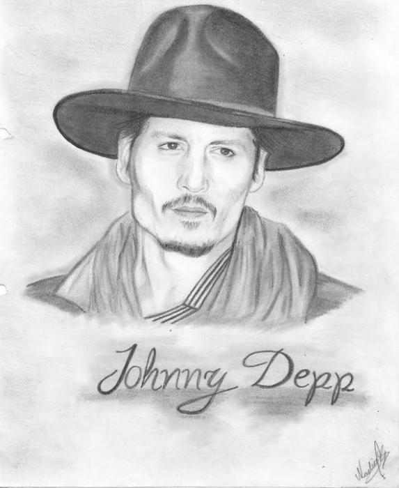 Johnny Depp by NOE